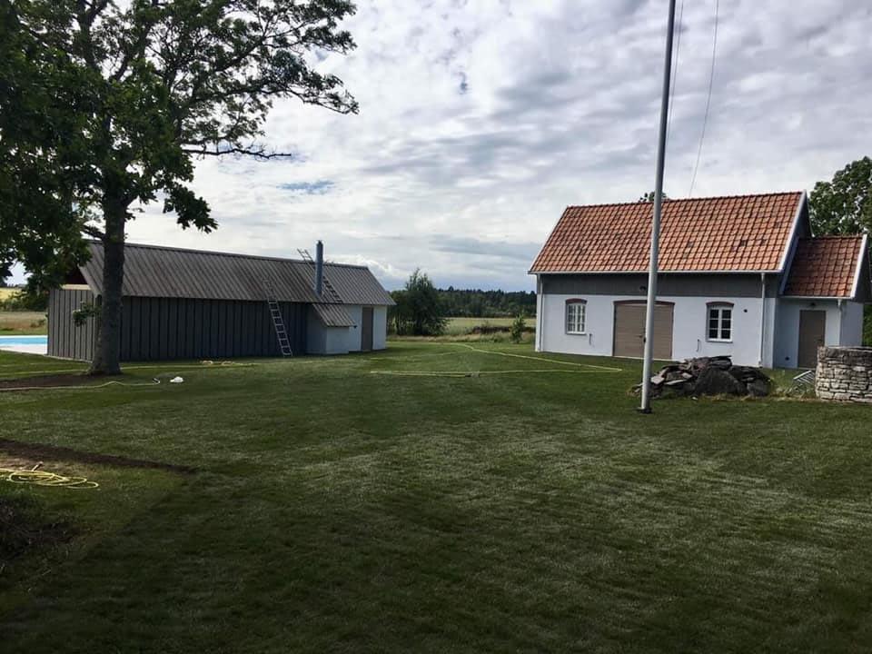 """""""Projekt i Fröjel som pågått under vinter/vår överlämnades till kund i förra v... 1"""