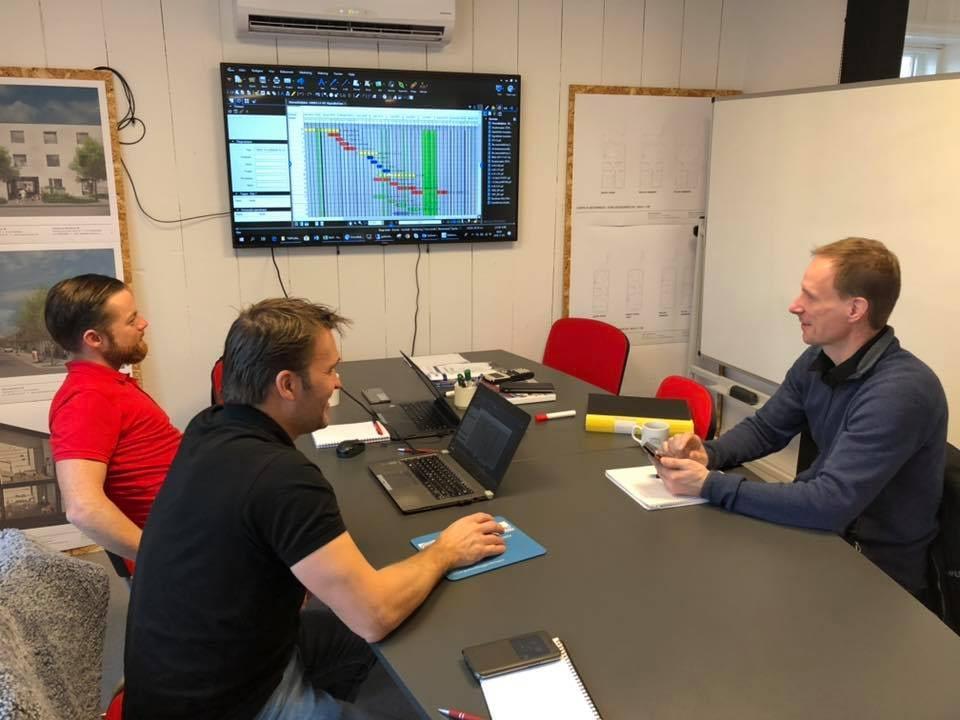 Idag är det Startmöte/planeringsmöte med vår samarbetspartner för projektet Si... 2