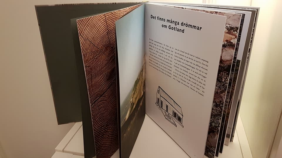 Nu har boken om Gotlandsbyggen kommit. I boken kan man läsa ända ifrån starte... 4