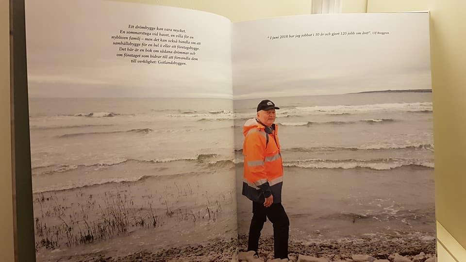 Nu har boken om Gotlandsbyggen kommit. I boken kan man läsa ända ifrån starte... 5