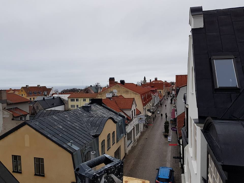 Taket på Skölden 18 börjar ta form. Den som kommer köpa lägenheten högst upp k... 3