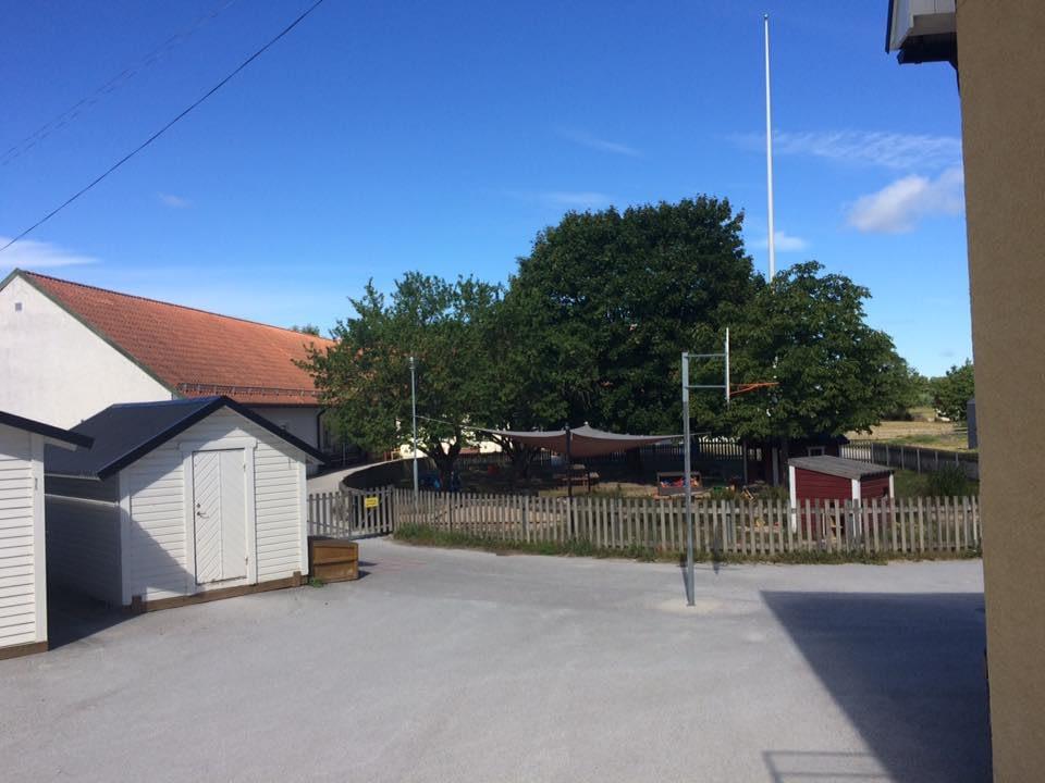 Nu startar ombyggnaden av skolköket i Stenkyrka skola. Nya skolköket skall stå... 2