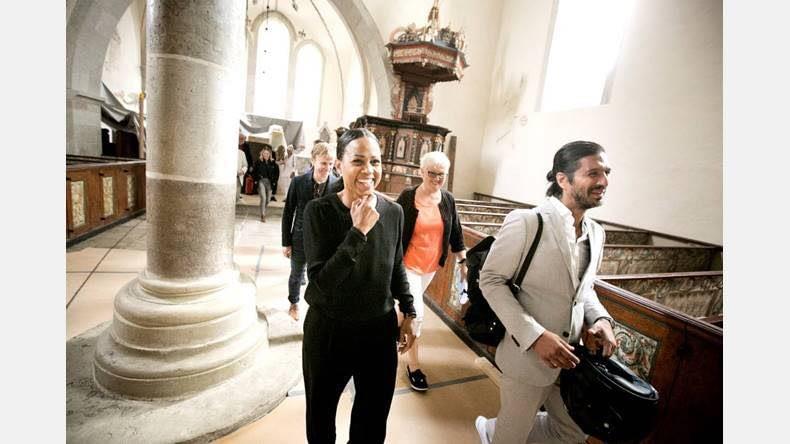 Gotlandsbyggen har idag haft besök av Kultur- och demokratiministern Alice Bah... 5