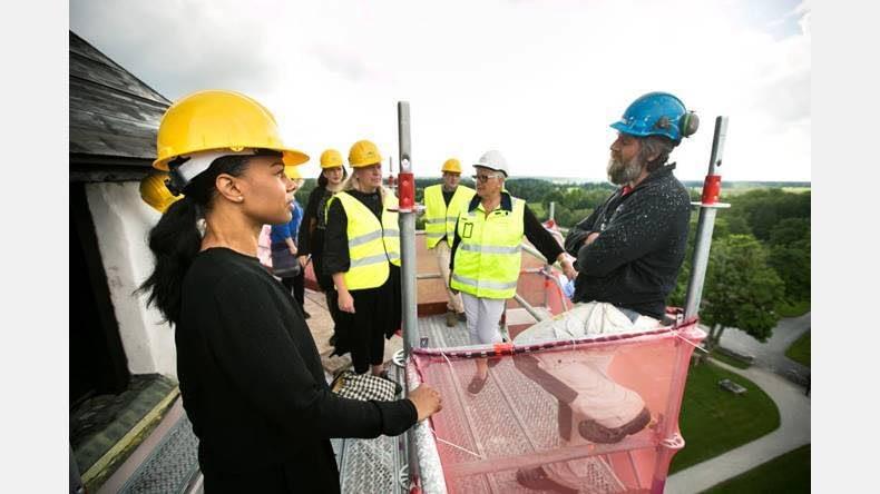 Gotlandsbyggen har idag haft besök av Kultur- och demokratiministern Alice Bah... 1