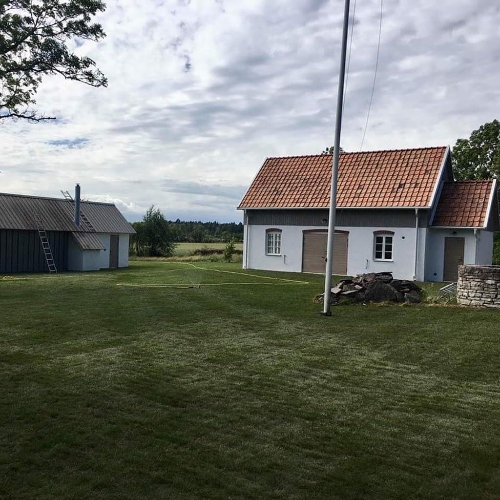 Projekt i Fröjel som pågått under vinter/vår överlämnades till kund i förra ve... 1