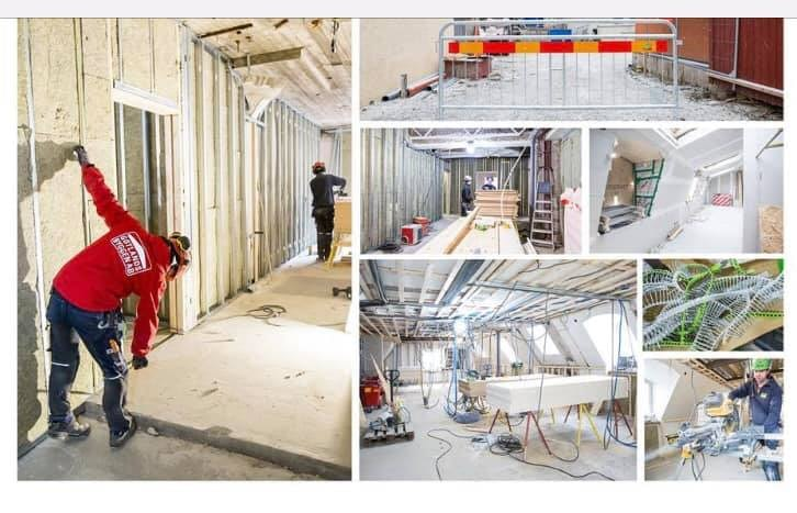 Projektet Skölden 19 fortskrider och nu är även Townhouse på plats som ligger ... 1