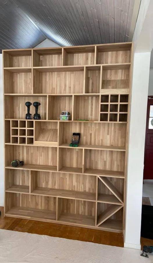 Gotlandsbyggen Växjö utför även Platsbyggda möbler som tillexempel denna fina ... 1