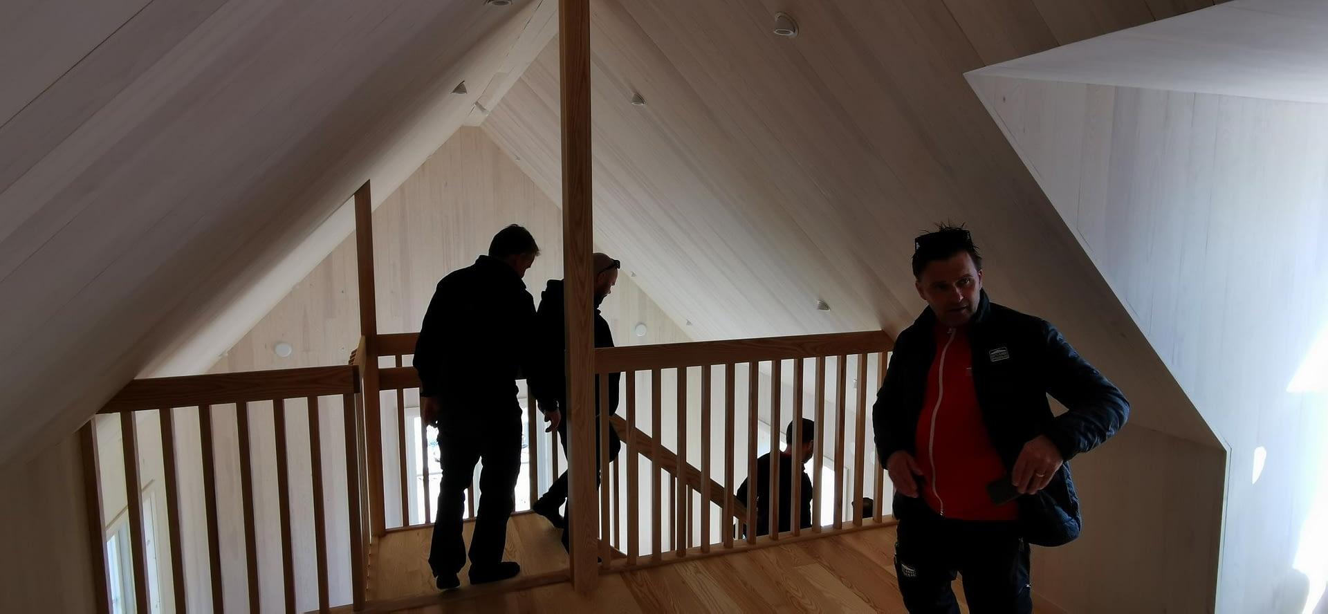 I veckan hade vi besiktning av detta fina projekt på Fårö. alla inblandade har g... 4