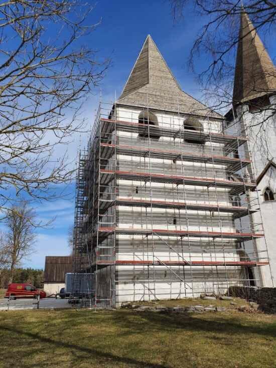 Nu är vi igång med Kastalen i Lärbro Kyrka. Projektet pågår fram till septemb... 2
