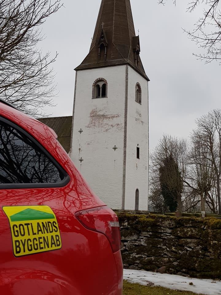 Nu är vi igång med restaurering av Fardhem kyrka. Riktigt roligt att Gotlandsb... 3