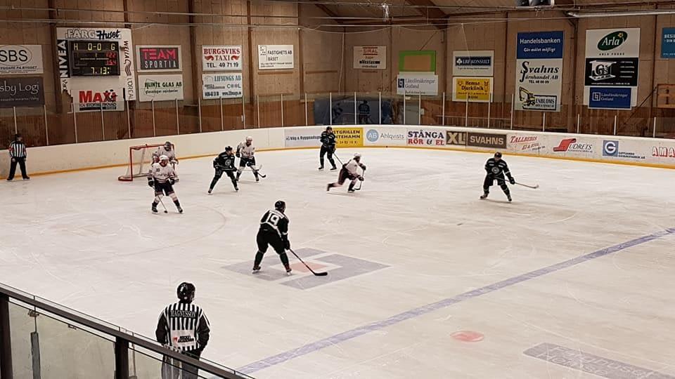 Idag är vi Matchvärdar i Hemse. Sudrets HC mot Farsta. 2