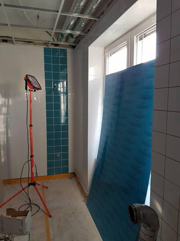 Här kommer lite bilder på renoveringen nere på infektionskliniken Lasarettet. ... 5