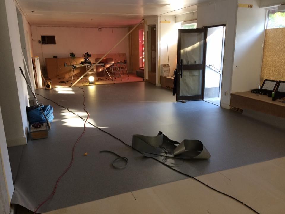 Nya kontoret i Hemse börjar ta form. Gotlandsbyggen AB flyttar in i de nya lok... 3