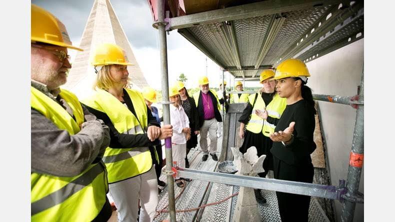 Gotlandsbyggen har idag haft besök av Kultur- och demokratiministern Alice Bah... 2