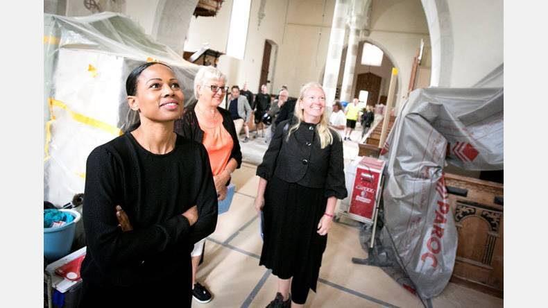 Gotlandsbyggen har idag haft besök av Kultur- och demokratiministern Alice Bah... 4