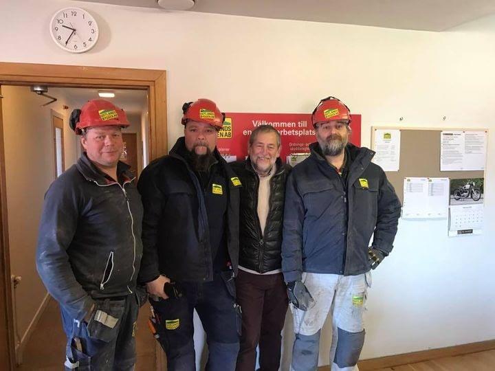 Full fart med duktiga medarbetare på Gotlandsbyggen. Nu bygger vi bostäder på ... 1