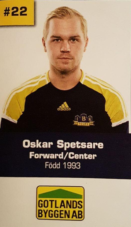Gotlandsbyggen är stolt sponsor till vår nyanställda Oskar Spetsare. Oskar flytt... 1