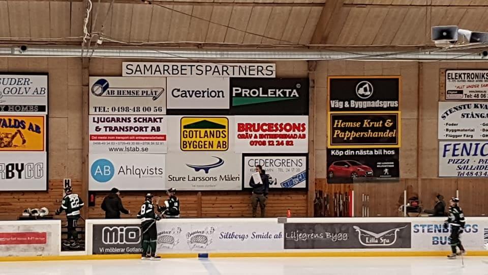 Idag är vi Matchvärdar i Hemse. Sudrets HC mot Farsta. 1