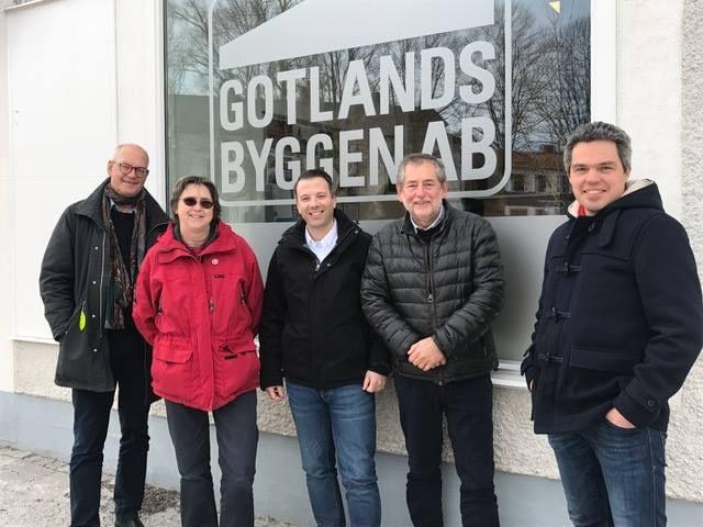 Idag fick vi finbesök från den politiska ledningen från Region Gotland. Vi fick ... 1