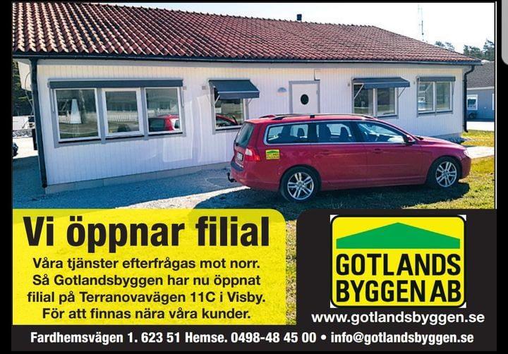 Nu finns vi även i Visby för våra kunder. 1
