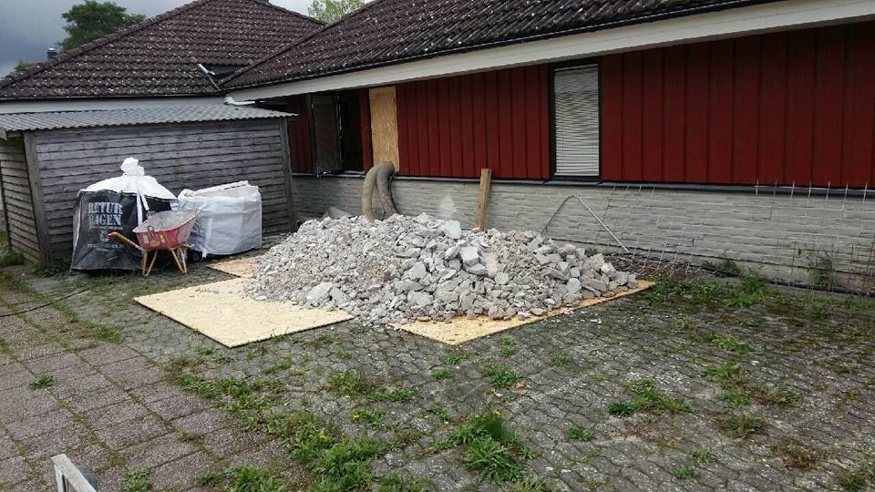 Vi har fått i uppdrag av Regionen att utföra en mindre renovering av lill Korp... 1