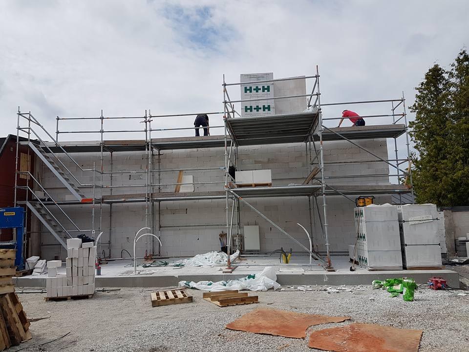 Villaprojektet Ringaren 4 i Visby har startat med rasande fart. Villan skall s... 1