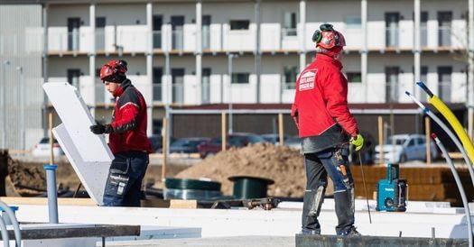 byggnadsarbetare byggservice och Entreprenad 1