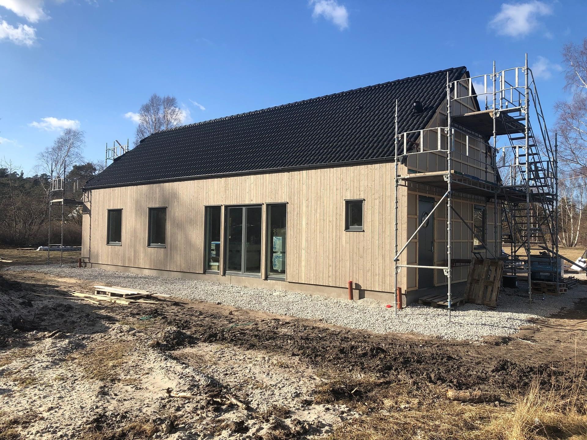 Vi bygger ytterliggare en villa i östergarn denna gång i samarbete med Fiskarhed... 1