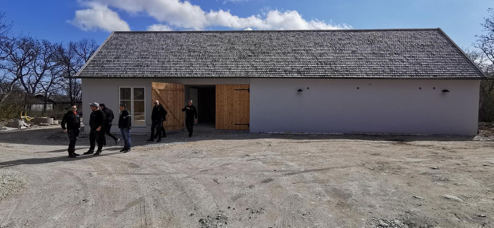 I veckan hade vi besiktning av detta fina projekt på Fårö. alla inblandade har g... 2